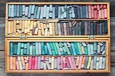 SUPERB RETRO VINTAGE ARTIST CRAYONS BOX CANVAS #487 QUALITY A1 ART PICTURE