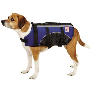 XSMALL DOG LIFE JACKET Guardian Gear Neoprene Navy Blue Pet Preserver CLOSEOUT