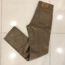 RARE Vintage 1980's Corduroy Levi's USA Mens Straight Leg Jeans Pants 32 X 36