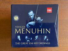 YEHUDI MENUHIN The Great EMI Recordings 1916-1999 - 51 CDs Box Set LIKE NEW