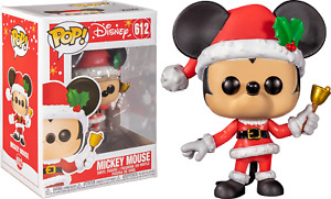 Funko Pop! Disney Mickey Mouse Santa Claus  # 612 Holiday Funko Pop NEW in Box