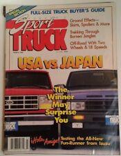 Sport Truck Magazine Vtg Mar 1989 RARE VHTF Buyers Guide Low Ride Great Ads Baja
