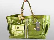 New Zufi Alexander Green Patent Leather Handbag