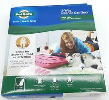 PetSafe 2 Way Interior Cat Door New Up to 15 lb cat
