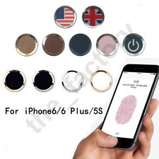Fingerprint Support Touch ID Home Button Protector Sticker For iPhone 5S 6 Plus