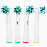 8x Soft Electric Toothbrush Heads Replacement Braun Oral B SB-17A Clean Brush A+