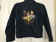 Girls Disney Store Size 10/12 Princess's Jean Jacket