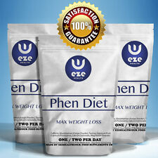 NEW PHEN DIET MAX  WEIGHT LOSS PILLS SLIMMING FAT BURNERS BUY 2 GET 1 FREE