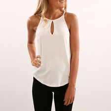 Women Workout Loose Tank Top Sleeveless Sport Gym Yoga T Shirt Blouse Top XL