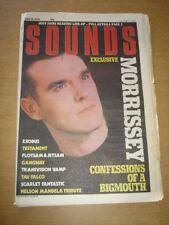 SOUNDS 1988 JUNE 18 MORRISSEY TRANSVISION VAMP IGGY POP NELSON MANDELA