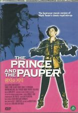 THE PRINCE AND THE PAUPER  NEW DVD