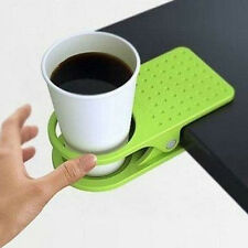 Drink Water Coffee Mug Cup Holder Rack Creative Office Home Clip Desk Table