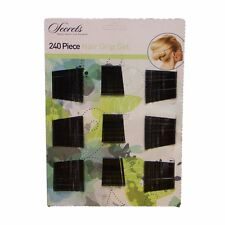 HAIRDRESSING HAIR SALON 240 PIECE SET STYLING CLIPS KIRBY SLIDES BOBBY GRIP PINS