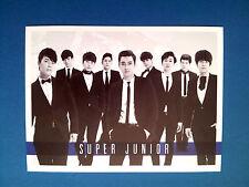 KPOP SM Super Junior Super Show 5 Concert Official Photo Post Card - Group