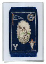B33 YALE BASKETBALL College Athlete Series of Tobacco Blankets with Fringe