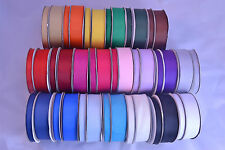 Grosgrain ribbon full 25m rolls 10mm 25mm lots of colours wedding crafts