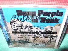 DEEP PURPLE - IN ROCK - CD - CON FIRMAS SERIGRAFIADAS -
