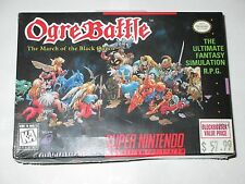 Ogre Battle: The March of the Black Queen Super Nintendo SNES NEW SEALED