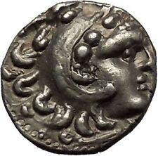 ALEXANDER III the GREAT 290BC Hercules Zeus Ancient Silver Greek Coin i54114