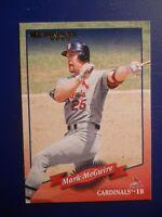2000  DONRUSS CARD # 6 MARK McGWIRE