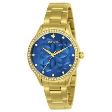Invicta Women's Wildflower 24537 35mm Blue Dial Stainless Steel Watch