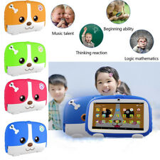 "7"" Kids Android 6.0 Tablet PC Quad Core Wifi Dual Camera Child Children Gift"