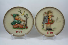 Hummel Goebel 1979 and 1980 Bas Relief Plates