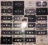Vintage Old School Pop Hip Hop Rap Cassette Tape lot of 25 Snoop C Mack 69boys +