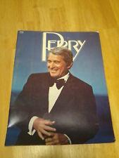 Vintage Perry Como Concert Souvenir Program