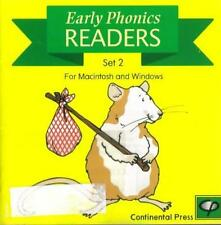 Early Phonics Readers Set 2 PC CD 12 e-book collection! learn to read homeschool