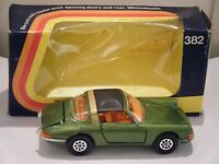 """Corgi No: 382 """"Porsche 911S Targa"""" - Green (Original 1973/Boxed)"""
