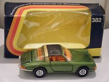 "Corgi No: 382 ""Porsche 911S Targa"" - Green (Original 1973/Boxed)"