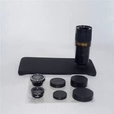 9x Zoom Telephoto Marco Camera Lens Kit Case For Samsung Galaxy S7 G9300 Black