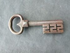 Antique  17th century forged iron key