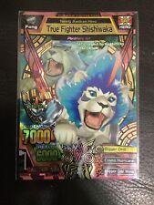 Strong Animal Kaiser Maximum Version 4 Ultra Rare Card - True Fighter Shishiwaka