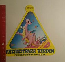 Aufkleber/Sticker: Freizeitpark Verden (27111624)