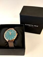 Kenneth Cole Womens Watch KC15056013 Gold-Toned Stainless Steel
