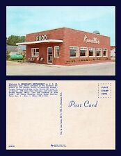 US MICHIGAN MACKINAW CITY KENVILLE'S RESTAURANT ON US ROUTE 23 1950'S ROADSIDE
