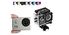 Fotocamera impermeabile sport videocamera hd 1080p kit accessori action camera