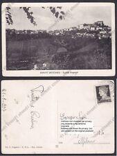 PAVIA MONTÙ BECCARIA 06 Cartolina viaggiata 1937 PIEGA !!!!!