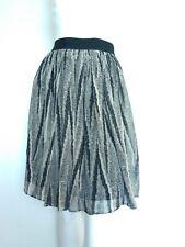 JIGSAW print silk skirt size 10 --USED ONCE-- 100% Silk grosgrain waist lined