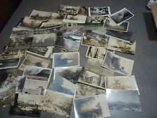 Real Photo Postcard / photo , new used vintage 47pc lot   C