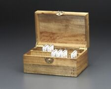 Depository Dish/Storage Container/Wooden Box for 20 Pieces 2oz NGC Silver Coins