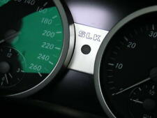 Mercedes Benz SLK R171 280 200 350 55 AMG Brabus Tacho Gravur Aluminiumblende