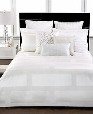 """Hotel Collection Bedding Frame White Quilted Standard Sham 20"""" x 28"""" A728"""