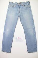 Levis 505 Straight Fit (Cod. M1664) tg50 W36 L36 jeans usato Vita Alta Vintage