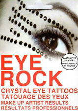 EYE ROCK CRYSTAL Temporary Eye Make Up Tattoo Stickers Type 1