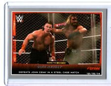 WWE Seth Rollins #71 2015 Topps Road To WrestleMania Silver Parallel Card