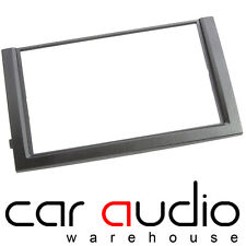 Connects2 Skoda Fabia 6Y MK1 2003 - 2006 Double Din Black Facia Fascia Plate