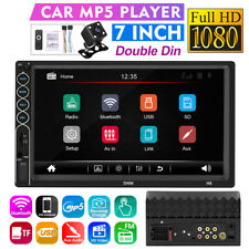 7'' 2 Din Touch Screen HD Car Player Radio Stereo bluetooth GPS NAV MP5 FM